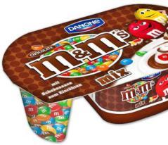 Danone M+M-Joghurt