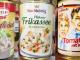 Gerichte aus der Konservendose Collage