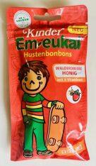 Dr. C. Soldan Kinder Em-eukal Hustenbonbons Walderdbeere Honig