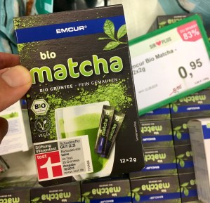 EMCUR Bio Matcha Bio-GRüntee fein gemahlen