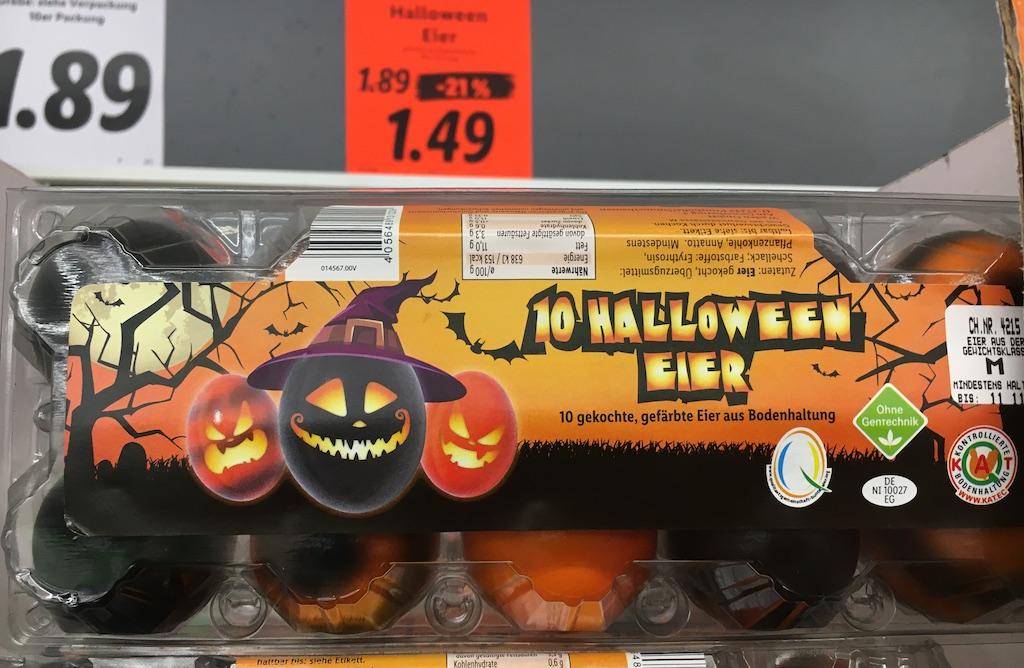 Halloween-Eier
