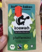 Koawach Kaffee-Alternative Pfefferminz Pulver