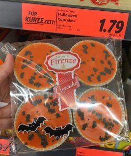 Lidl Confiserie Firenze Halloween Cupcakes