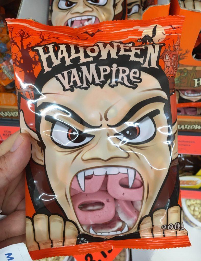 Lidl SweetTech Halloween Vampir-Gebisse Schaumzuckerware