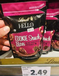 Lindt Hello Cookie Snack Bites