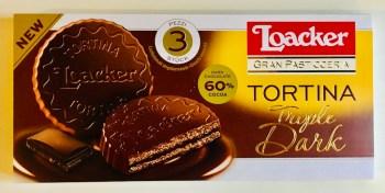 Loacker Tortina Triple Dark Kekse 3 Stück