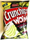 Lorenz Chrunchips WOW The Fantastic Cream+Mild Wasabi Wasabi Dream