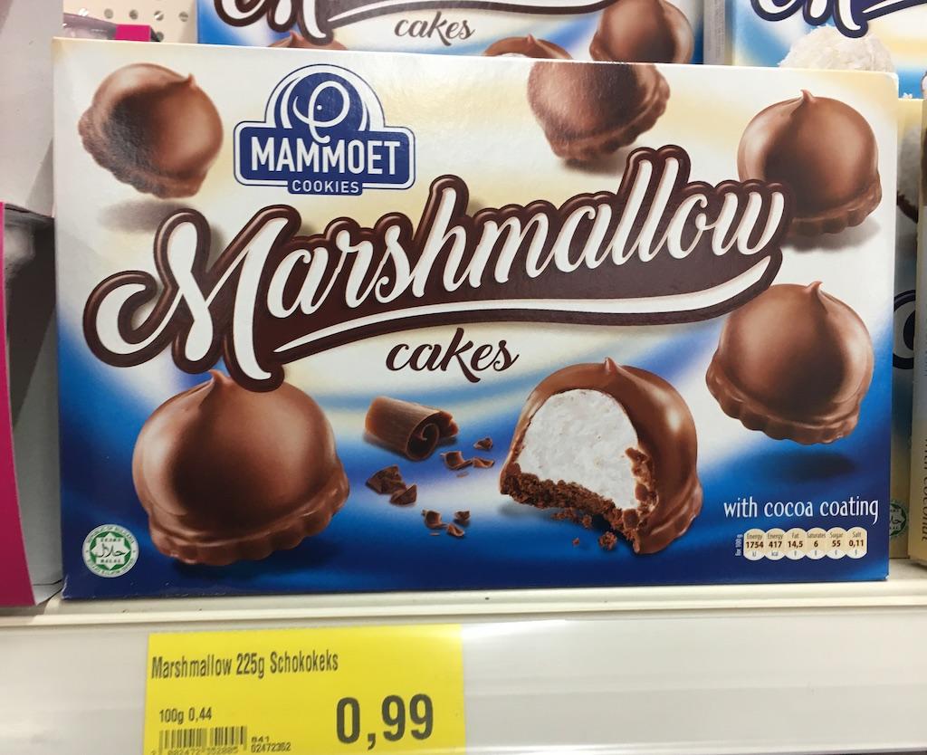 Mammoet Cookies Marshmallow cakes