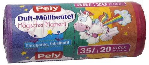 Pely Duft-Müllbeutel mit Einhornmotiv Magischer Moment
