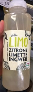 Rewe to Go-Stille Limo Zitrone Limette Ingwer
