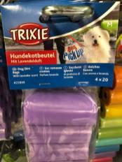 Trixie Hundekotbeutel mit Lavendelduft 4x20 Stück (Bildnachweis: ©Johannes Lohmeyer)