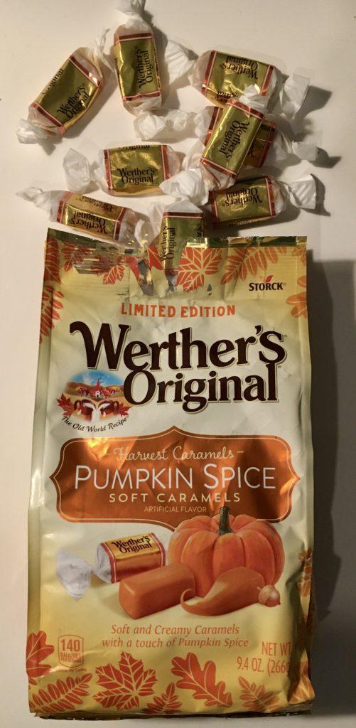 Storck Werther's Original Pumpkin Spice Soft Caramels 266 Gramm