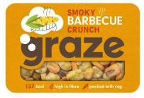 Graze Smoky Barbecue Crunch: Frittierter Mais mit rauchigem Barbecue-Geschmack von GRAZE.