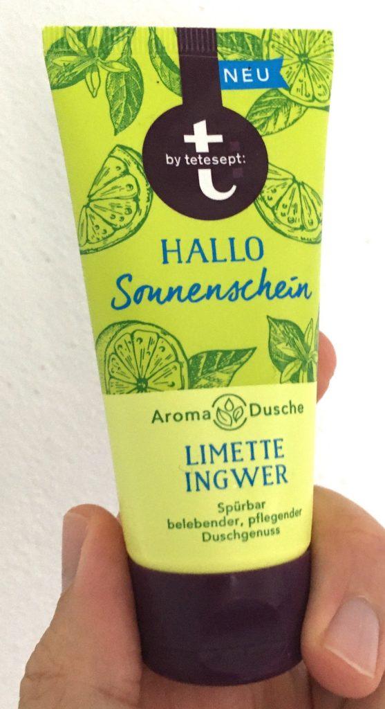 tetesept Hallo Sonnenschein Aroma-Dusche Limette Ingwer