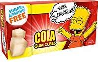 Cola Gum Cubes Bart Simpson