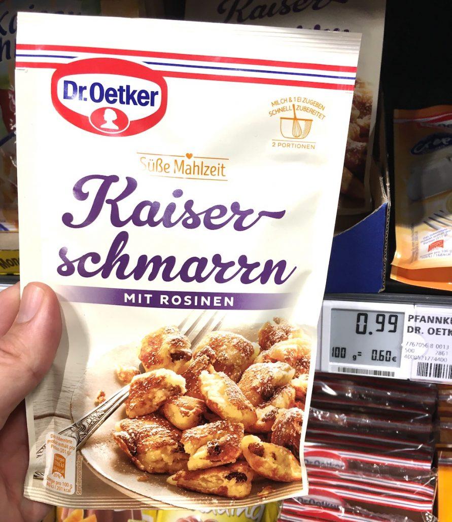 Dr. Oetker Kaiserschmarrn Süße Mahlzeit mit Rosinen