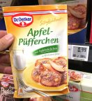 Dr. Oetker Süße Mahlzeit Apfelpüfferchen mit Apfelstückchen