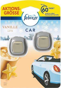 Febreze Car Freshener Vanille Latte