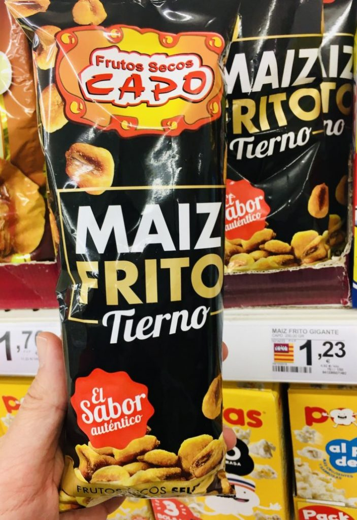Frittierter Mais