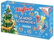 Küfferle Schokoschirmchen Weihnachtsedition