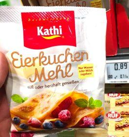 Kathi Eierkuchen Mehl süßoder herzhaft genießen