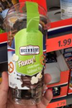 Lidl MCENNEDY Fancy! Schoko-Popcorn-Salzbrezel-Mix 180 Gramm