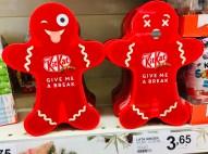 Nestlé KitKat Give me a break Lebkuchenmännchenverpackung