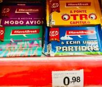 Nestlé KitKat Popverpackungen Kasse