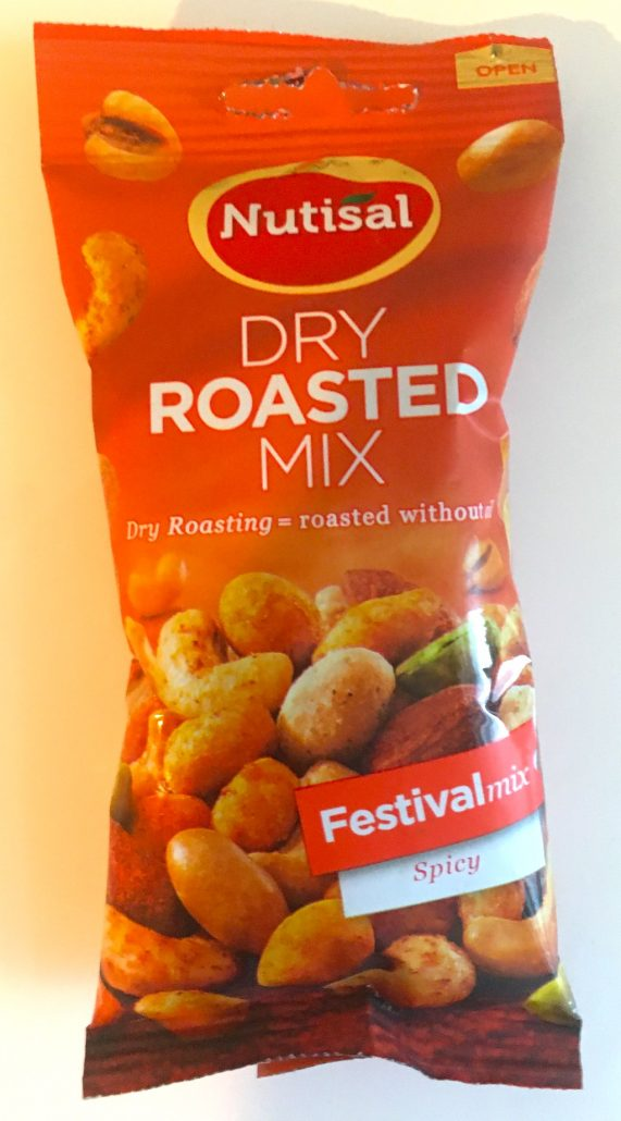 Nutisal Dry Roasted Mix Festivalmix Spicy