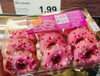 Reineke Brot Conradl Kuchenparty Mini Pinky Donuts 198 Gramm