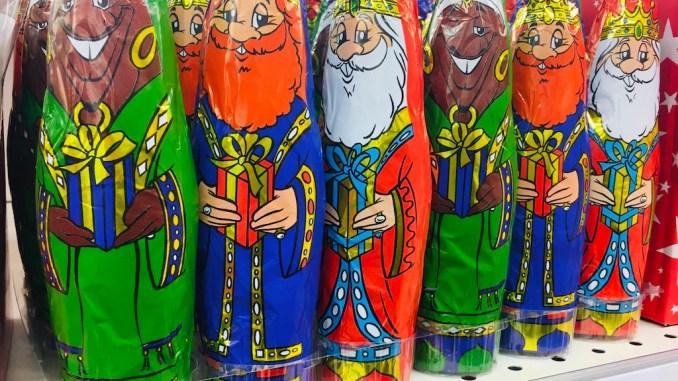 Schokoadenhohlfiguren Spanien die Heiligen drei Könige