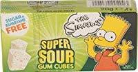 Super Sour Gum Cubes Bart Simpson