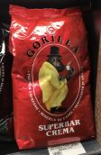 Superbar Crema Gorilla Kaffeebohnen mit Affenmotiv