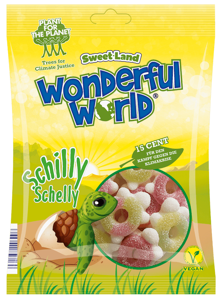 Sweet-Land Wonderful World Schilly Schelly Schildkröte 15 Cent Spende