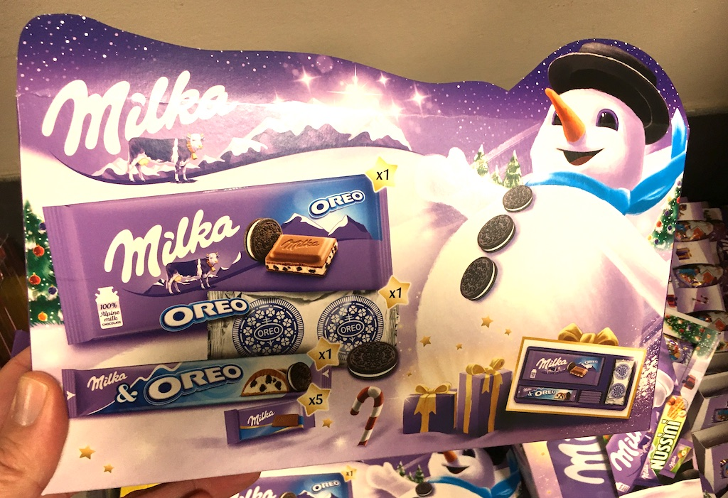 Österreich Milka Winter-Pack mit Oreo