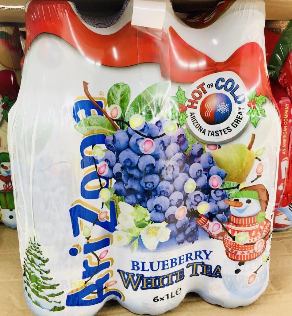 Arizona White Tea Blueberry Getränke
