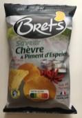 Brets Saveur Chevre+Piment d'Espelette Scharfer Ziegenkäse aus Frankreich