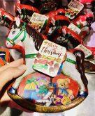 Galerie Lafayette Mery Christmas Schaukelpferd Schmuckdose