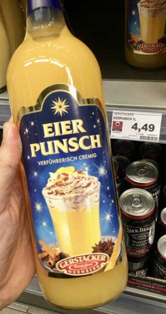 Gerstacker Nürnberg Eierpunsch 1L aus Weißwein Eigelb Pomeranzen- und Zitronenschalen zu erwärmen