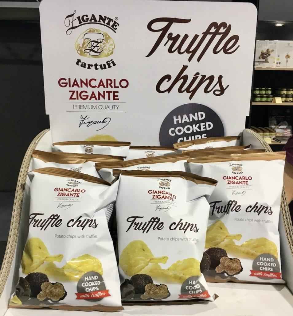 Giancarlo Zigante Zigante tartufi Truffle Chips Kartoffelchips mit weißen Trüffel