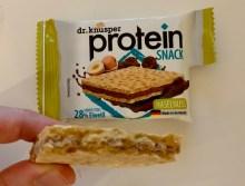 Gutena Nahrungsmittel Dr Knupser Protein Snack Haselnuss Schnitte 28% Eiweiß