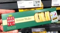 Haus Lichtenhain Armin-Thaler Kekse aus der Uckermark Plätzchen nach Arnimschen Rezept Souvenir
