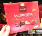 Heindl Naschherzerl Erdbeercreme 120 Gramm Herzpralinen