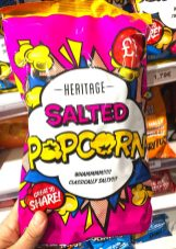 Heritage Salted Popcorn Comicdesign