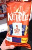Kettle 5 Single Bags Salted Balsamico Vinegar Chedar Cheese