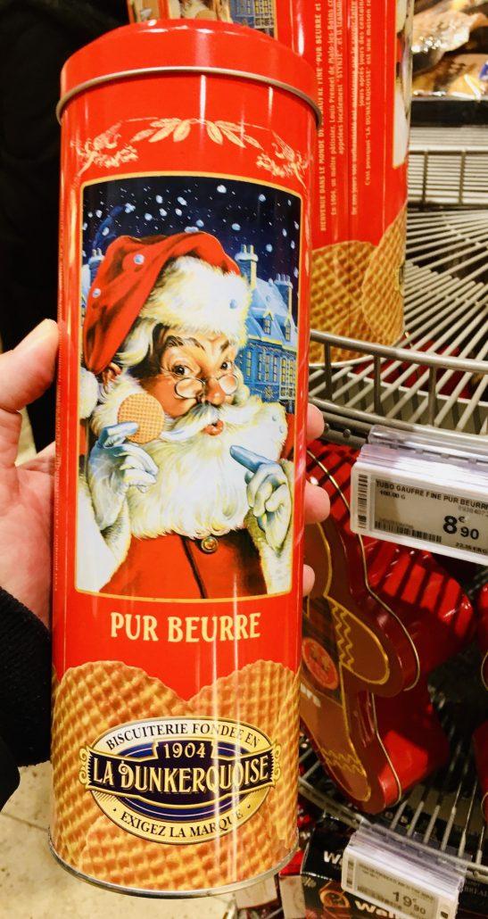 La Dunkerquoise Pur Beurre Waffeln Geschenkdose Weihnachten Lafayette