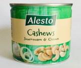 Lidl Alesto Cashews Sourcream+Onion Dose
