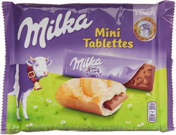 Milka Mini Tablettes für Brötchen