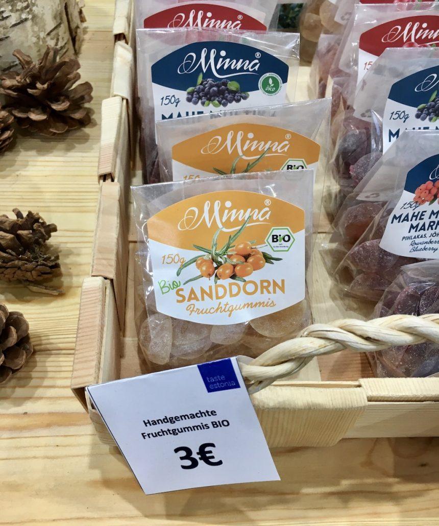 Minna Bio-Sanddorn Fruchtgummis