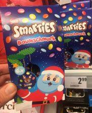 Nestlé Smarties Baumschmuck Österreich 2019